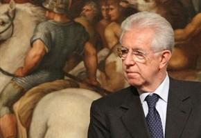 """Mario Monti è """"salito"""" in campo"""