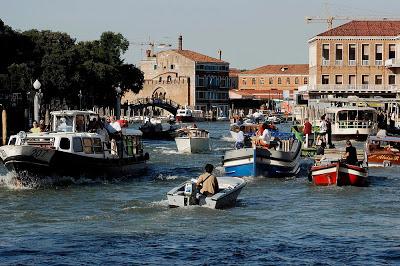 Traffico in Canal Grande