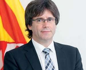 Carles Puigdemont, presidente della Catalogna