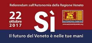 Un pamphlet pubblicitario della Regione Veneto per il SI al referendum