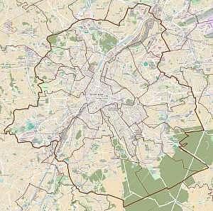 Mappa di Bruxelles Capitale