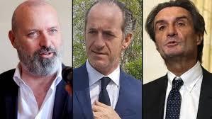 I Governatori delle tre Regioni aspiranti autonomiste