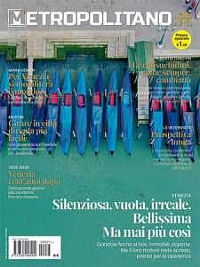 La copertina dell'ultimo numero del Metropolitano © Il Metropolitano